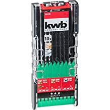 KWB Power Box–Hoja de sierra de calar Set para cortes en madera y metal (10piezas, para cortes), 1pieza, 109180