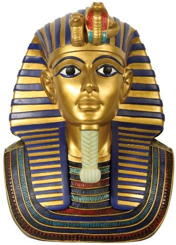 Dekofigur, Statue, Büste Ägyptische Gottheit Pharao Tutenchamum Tut