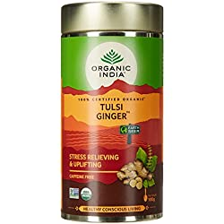 Organic India Tulsi Ginger Tea - 100 g