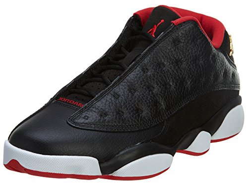 Nike Air Jordan 13 Retro Low 'Bred' Black/Mtllc Gld-Universty Rd-Wht Trainer black/mtllc gld-universty rd-wht