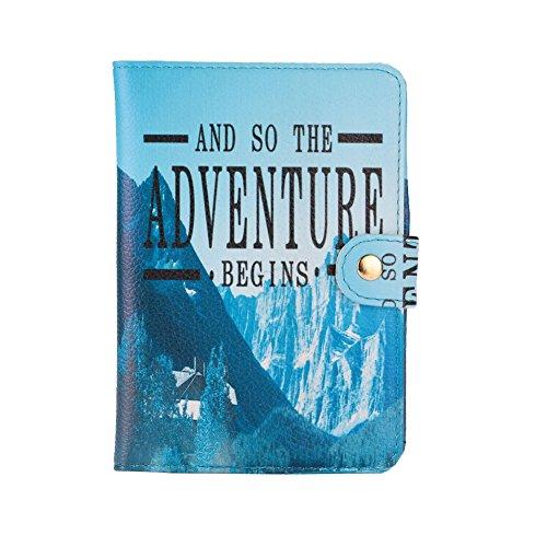 Rosepoem Reisebrieftasche Reisedokument-Organisator Kredit- und Visitenkarten Hol 'dir deines jetzt! (Reisedokument)