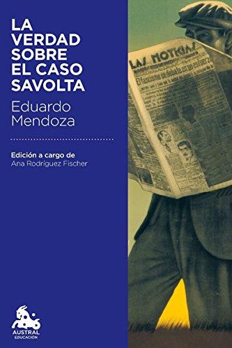 Descargar libro de ensayos en inglés pdf La verdad sobre el caso Savolta B00XM0P0IW MOBI