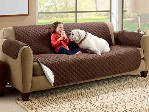 Thulos custodia di sofa reversibile grande per 3posti tripla protezione 280x 175cm qualità