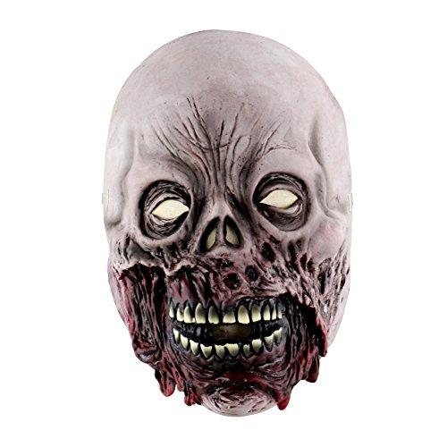 WEISY Maske der Angst, Neuheit Masken für Halloween Party Maske für Erwachsene und Kinder Männer Frauen