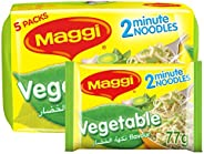Maggi 2 Minute Noodles Vegetables 77g (Pack of 5)