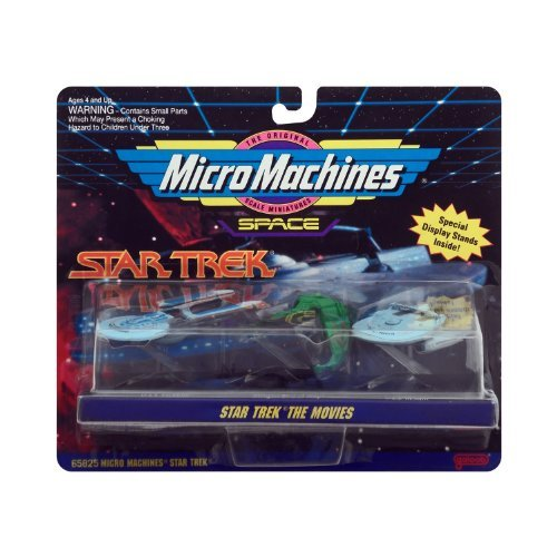Micro Machines Star Trek the Movies (Collection 2) by Galoob