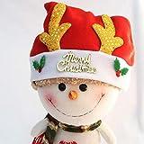 HPEDFTVC Weihnachtsmann Geweih Hut Kind Erwachsene Weihnachtsschmuck Klassische Weihnachtsmütze Urlaub Party Supplies Weihnachtsmann Zubehör 3 Stück, kleines Geweih