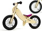 Kinderlaufrad LIKEaBIKE Spoky mini von Kokua Like a Bike pink Speichen silber, Link führt zur Produktseite bei amazon.de