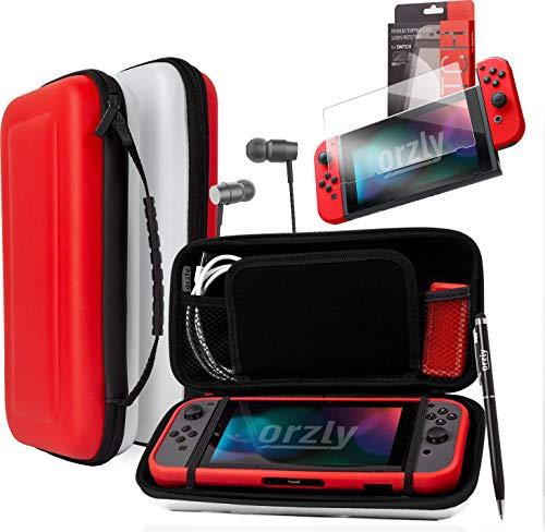ORZLY® Pack Accesorios Nintendo Switch Funda Viaje