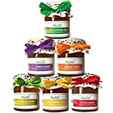 Farm Naturelle Raw Honey, Jungle, Jamun, Litchi, Eucalyptus, Wild Berry and Acacia, 250g (Pack of 6)