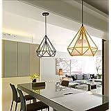 MACSIUUn moderno y elegante gran Kronleuchter en estilo minimalista Diamond (blancos y negros. Los Verdes Wong. Naranjas. Cálido amarillo violeta.