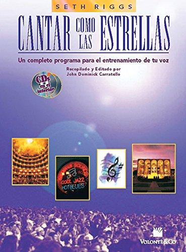 CANTAR COMO LAS ESTRELLAS+2CD por Riggs Seth                   .