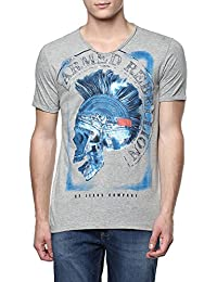SF Jeans by Pantaloons Men's Cotton T-Shirt