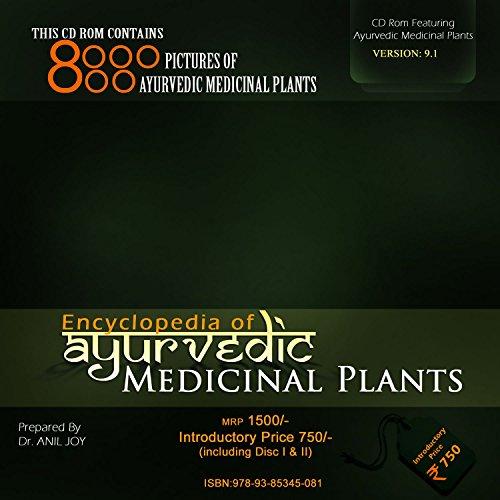 Encyclopedia of Ayurvedic Medicinal Plants CD Rom (nineth Edition, 2017