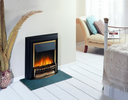 51tAItcZC8L - Dimplex CHT20 Cheriton Freestanding Optiflame Electric Fire