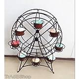 TrAdE shop Traesio® Ständer aus Stahl A Form-Riesenrad-8Kuchen Cupcake Muffin