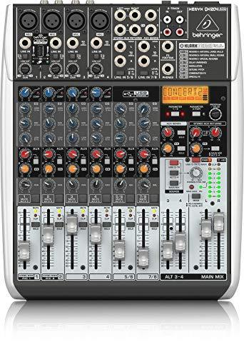 Behringer XENYX QX1204USB Mixer - Mikrofon Behringer Usb