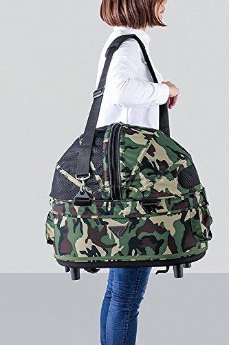 """AirBuggy """"Dome 2"""" Größe: M Luxus Hundebuggy Hundewagen PetStroller Autositz Hundetasche Transporttasche hochwertig schwarz 3in1 Aluminium inkl GRATIS REGENHAUBE - 2"""