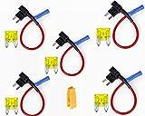Flachsicherungsadapter Flachsicherungen Stecksicherung (5er pack und 20A Sicherung)