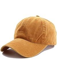 Tuopuda Cappellini da Baseball Cotone Unisex Berretto da Baseball  All aperto Berretto Sportivo b8558392eb0e