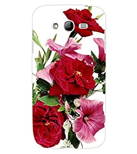 ColourCraft Beautiful Flowers Design Back Case Cover for SAMSUNG GALAXY GRAND Z I9082Z