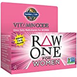 Garden of Life - Raw One Multivitamines pour femmes 30 Capsules Végétales