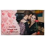 Lolapix Manta Suave San Valentín 120x190cm. Personalizada con tu Foto. Varios diseños. Regalo para...