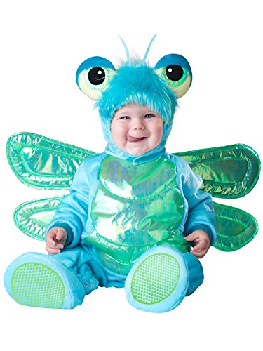 InCharacter Costumes Baby's Dinky Dragonfly Costume, Green/Turquoise, Small