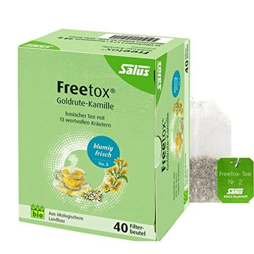 FREETOX Tee Goldrute-Kamille Bio Salus Filterbeut. 40 St Filterbeutel