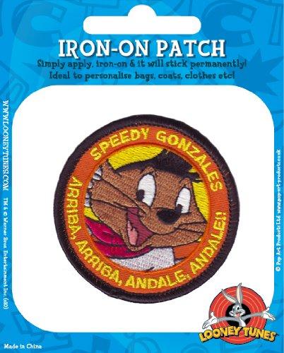 speedy-gonzales-embroidered-badge