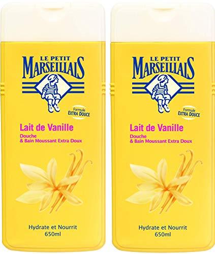 Le Petit Marseillais Douche/Bain Moussant 650 ml Lot de 2