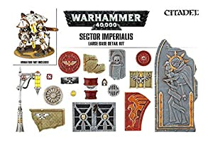 Games Workshop 99120199042 - Kit de Detalles de la Base del Sector Imperialis, tamaño Grande