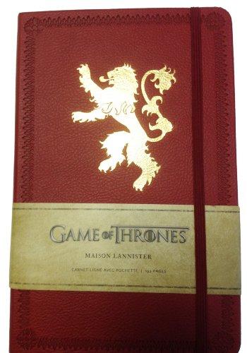 Game of Thrones (le Trône de Fer) - Carnet Luxe Lannister