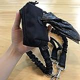 1T Gear OneTigris Kotbeutelspender für Hunde MOLLE Pet Poop Tasche Halter - passt für Jede Hundeleine (Schwarz)