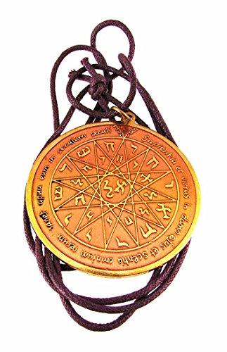 Clave de Salomón capacidad intelectual colgante talismán amuleto