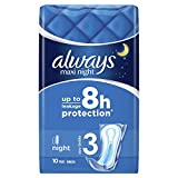 Always Maxi Night Binden, 8er Pack (8 x 10 Stück)