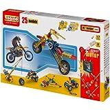 Engino - Set Inventor Basic, 25 modelos, juego de construcción (2520)