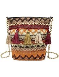 Amazon.es: Bolsas De Crochet - Incluir no disponibles: Equipaje