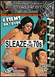 Sleaze in the 70s Grindhouse Collection [DVD] [1970] [Region 1] [US Import] [NTSC]