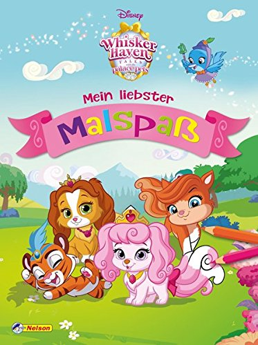 Disney Whisker Haven Tales Palace Pets: Mein liebster Malspaß