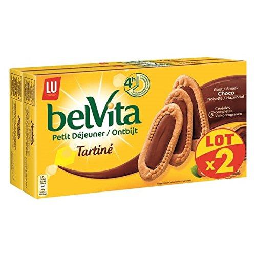 belvita Tartines chocolat noisettes - ( Prix Unitaire ) - Envoi Rapide Et Soignée