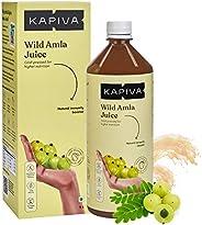 Kapiva Wild Amla Juice 1L | Immunity and Digestion Booster | Made from Pratapgarh Amlas | No Added Sugar