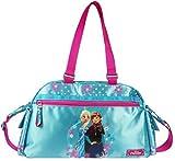 Disney Frozen Eiskönigin Sporttasche Schultertasche Umhängetasche Tasche blau/pi