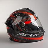 Suomy KSSR0031.3 Casco Moto, Roso, S