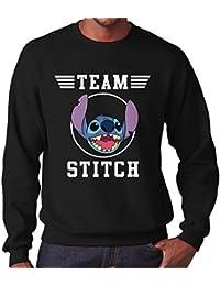 1bc87a7366b91 TeeTrumpet Lilo and Stitch Team Stitch Men s Sweatshirt