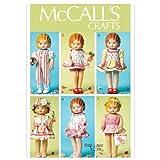 McCall's 6573 Patrón de costura para vestidos de muñecas y accesorios (tamaño 45 cm)
