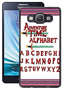 ColourCraft Alphabets Design Back Case Cover for SAMSUNG GALAXY A5 A500F