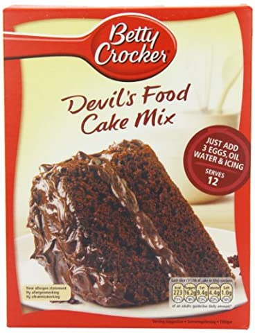 Betty Crocker Devil's Food Cake Mix 500 G (pack Of