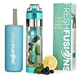 Best Outdoor Products Fruit Infused Water Bottles - Fresh Fusions Fruit Infuser Water Bottle 24 Oz Review