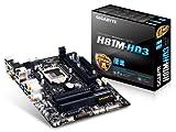 Gigabyte GA-H81M-HD3 Mainboard Sockel LGA 1150 (micro-ATX, Intel H81, 2x DDR3 Speicher, 2x SATA III, DVI-D, HDMI, USB 3.0)